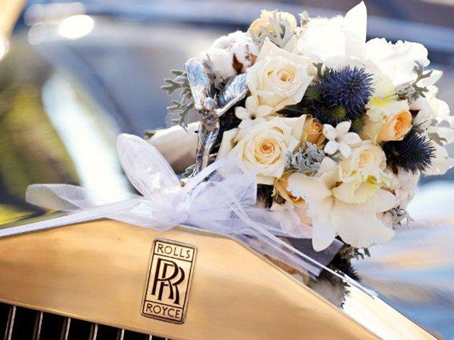 wedding rolls royce
